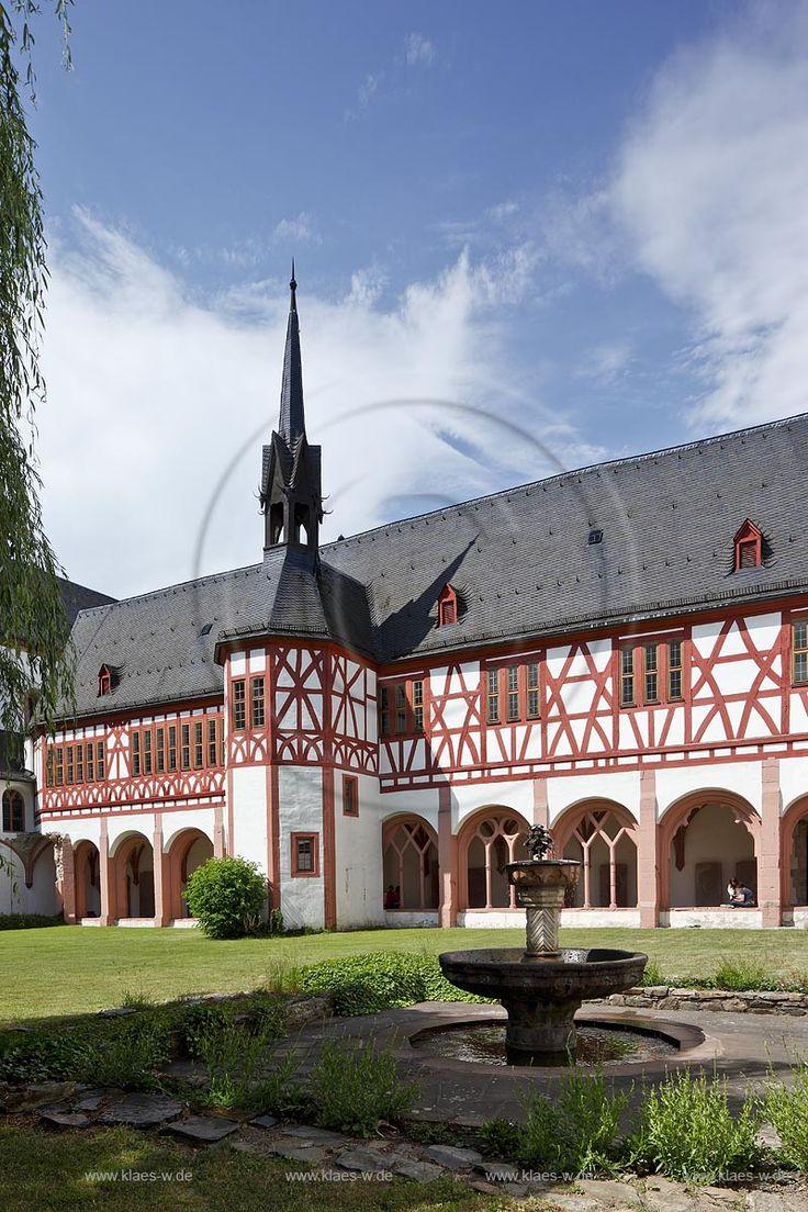 Kloster Eberbach im Odenwald in Hessen, Deutschland