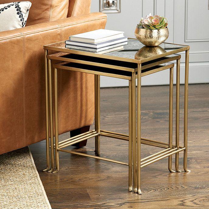 Madeline Nesting Tables Set Of 3 Furniture Design Chair Nesting Tables Living Room Furniture Design