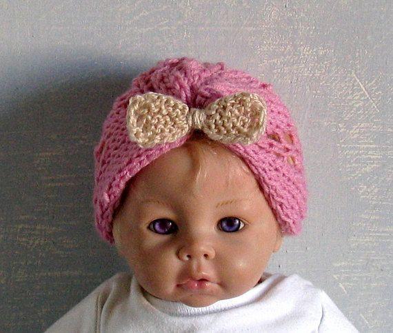 Baby Turban Hat Baby Turban Newborn Hat Premie Hat Retro Baby