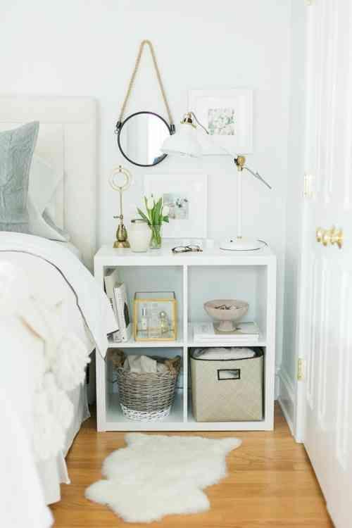 Idée déco chambre adulte : 100 suggestions en blanc - Marion ...