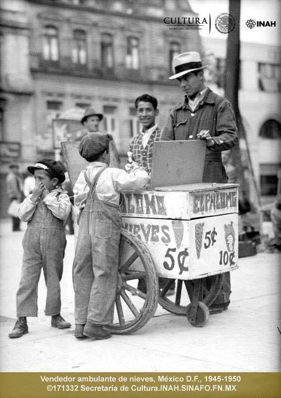 Nevero, decada de 1940 a 1950.
