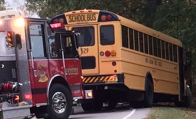 A Wake County school bus was involved in a multi-vehicle crash in Knightdale Wednesday morning. #DWI #DWIarrests #News
