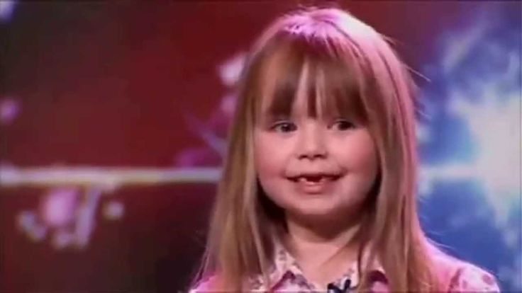Adorable Girl Makes The Judges Cry With Her Voice - Connie Talbot - YouTube