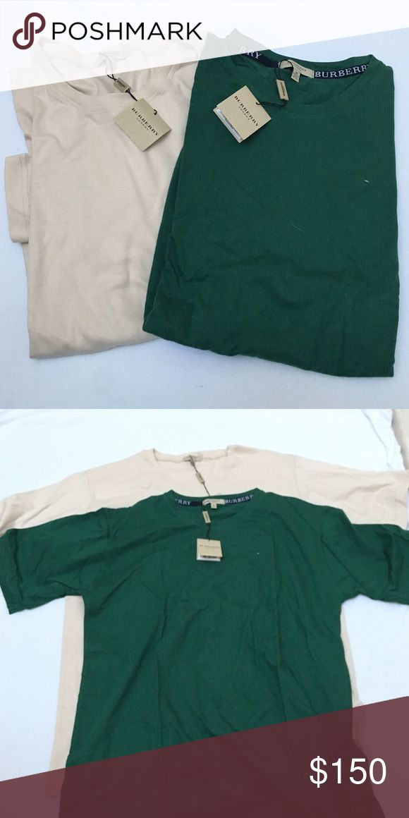NWT Burberry t shirts (men) bundle Brand new $135 each retail! Will sell individually but price is for bundle! Burberry Shirts Tees - Short Sleeve