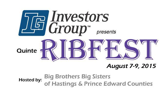 Ribfest in Belleville - August 7-9, Zwicks Park, Belleville, ON
