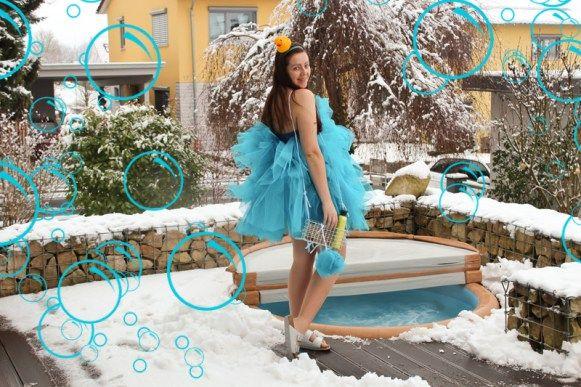 Duschschwamm Kostüm selber machen