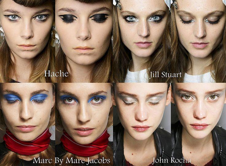 Модный макияж весна-лето 2014
