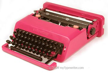 Worked for Olivetti-too much amazing design to capture! This typewriter designer, Sottsass, also designed Talponia, where we lived in Ivrea.