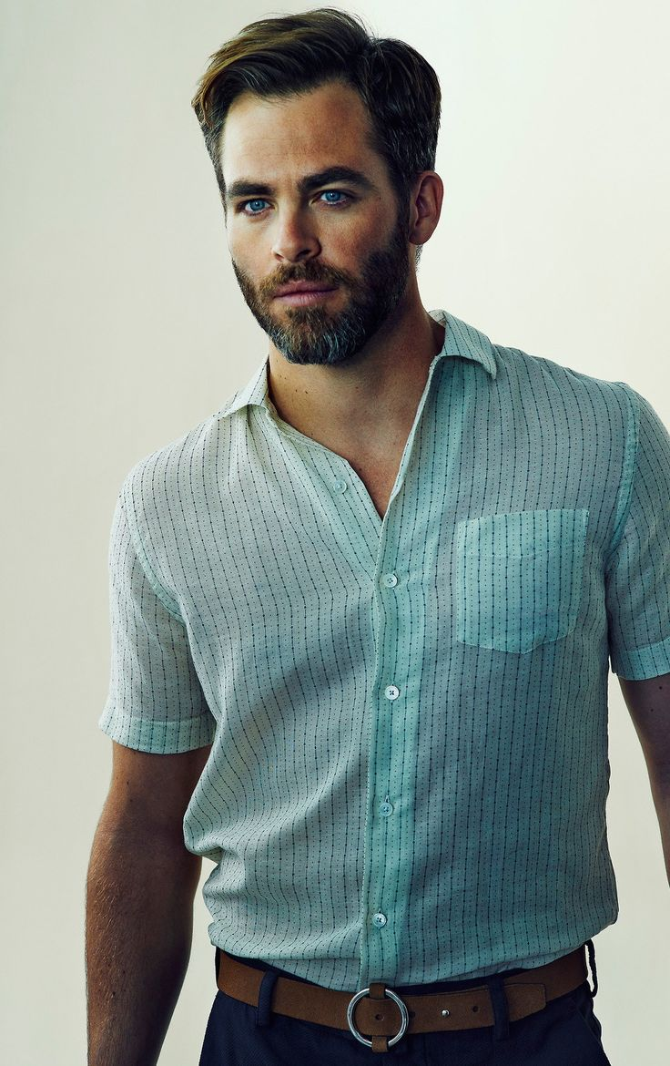 Chris Pine || I need this shirt for my husband
