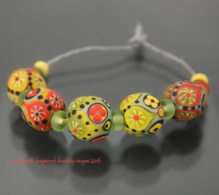 irena groszkov lampwork beadsbeaded jewelrybead