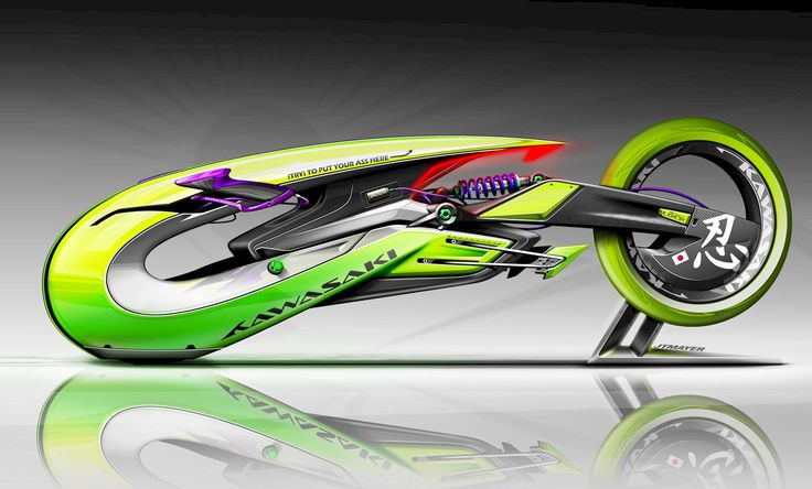 Motorcycle Design and Model - Spa. by Bruce Thomson about Behance