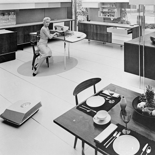 Kitchen Of The Future: 1365 Best Images About Vintage Kitchens On Pinterest