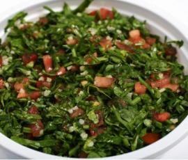Rezept Tabouleh - libanesischer Petersiliesalat von derHurly - Rezept der Kategorie Vorspeisen/Salate