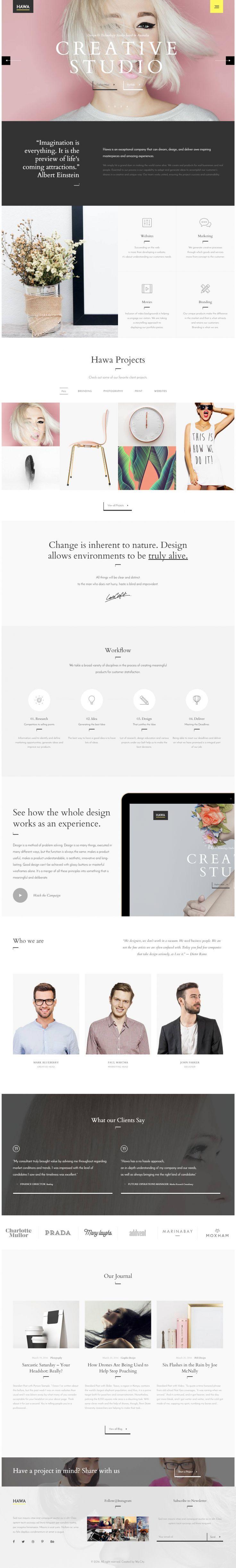 Hawa – A Hot Creative Design on