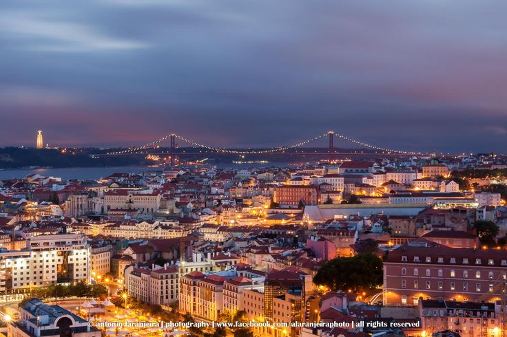 @ Senhora do Monte, Lisbon, Portugal by António Laranjeira on 500px