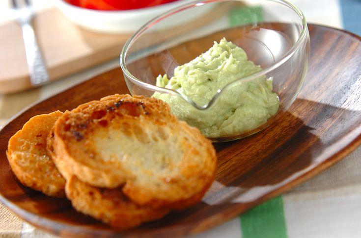 熟れたアボカドを使ったクリーミーなディップ。野菜や魚介類とも相性抜群です。アボカドのディップ[洋食/前菜]2012.05.28公開のレシピです。