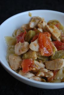 Mandy kertje és konyhája: Palermói csirkeragu