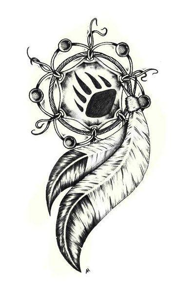 татуировка волк в индейском стиле - Поиск в Google