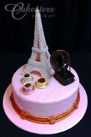 Cakeaters Edible Arts : 17 Best images about Paris / Eiffel Tower on Pinterest ...