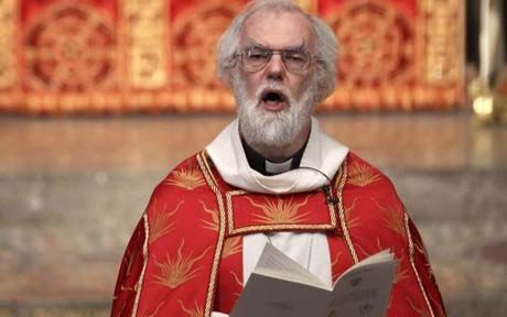 """UK.. MAYBE  YOU'VE  LOST  YOUR  OWN  MESSAGE  FOR  THE  PEOPLE... THEY HAVE  NOTHING TO FOLLOW FROM YOU.. Rowan Williams Says Britain Is a 'Post-Christian' Nation - Amid public debate sparked by PM David Cameron's recent statement that Britain is a Christian nation - a view supported by more than half the country's public - former Archbishop Williams, tells newspaper that Britain is now a """"post-Christian"""" society, which, though remains haunted by Christianity."""