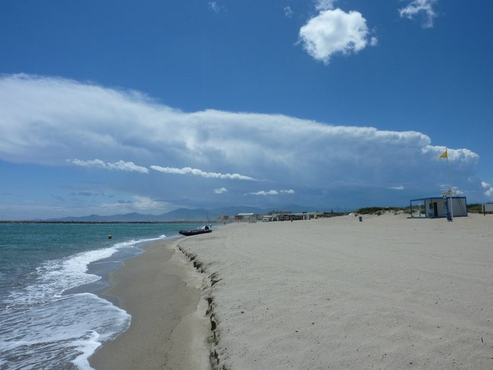 Canet Plage -France - I would love to be on this beach right now.. love it