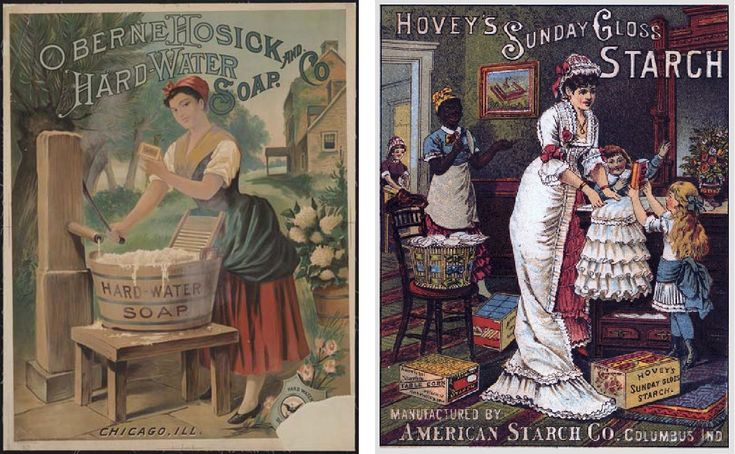 Decorate Your Laundry Room With Vintage Advertising
