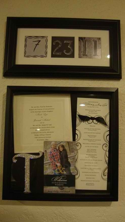 Wedding Keepsake box- 5 yrs later and still need to do this
