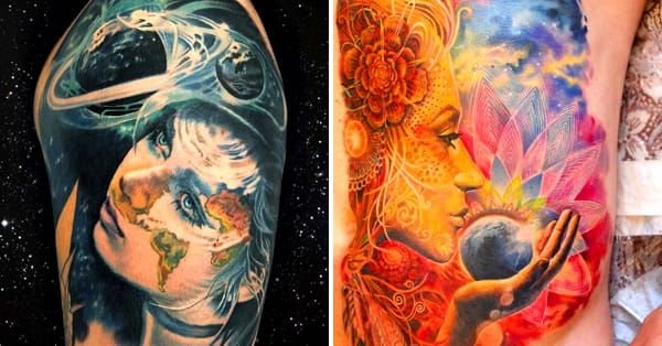 15 Heart-Warming Mother Nature Tattoos