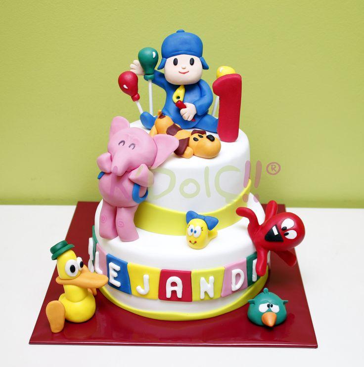 Elly S Studio Cake Design Chilliwack : #Pocoyo #Elly #Pato #Valentina #Pulpo #Pajaroto y #Loula ...