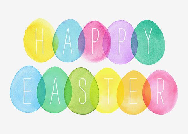 Margaret Berg Art: Happy Easter Eggs