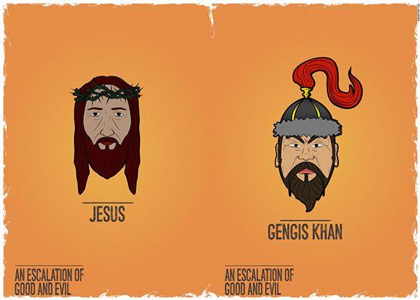 JESUS - GENGIS KHAN