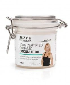 100% Certified Organic Coconut Oil