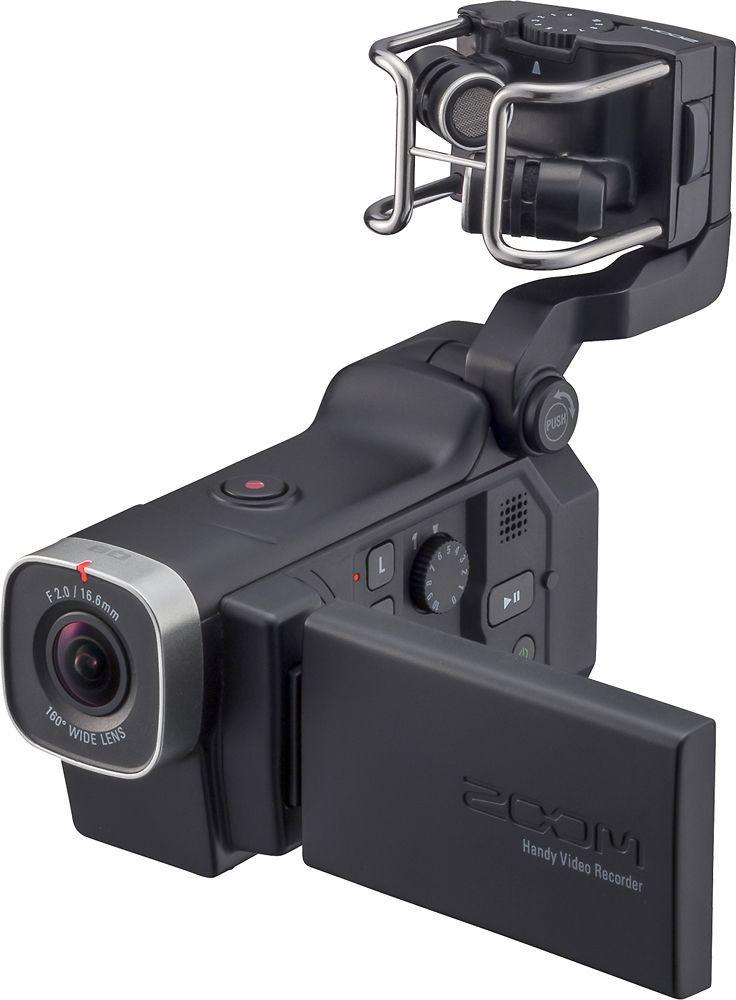 Zoom - Q8 HD Camcorder - Black