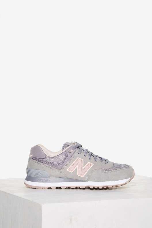 New Balance 574 Nouveau Lace Suede Sneaker
