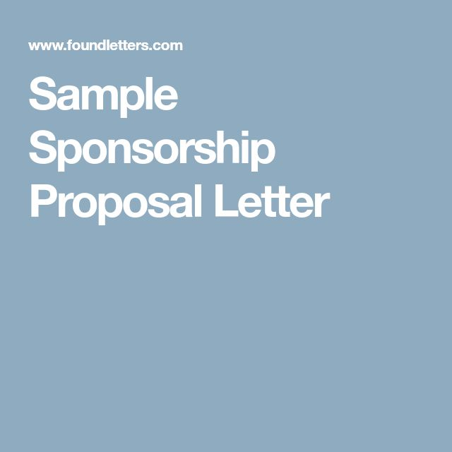 Best 25+ Sponsorship letter ideas on Pinterest Donation letter - fund raiser thank you letter