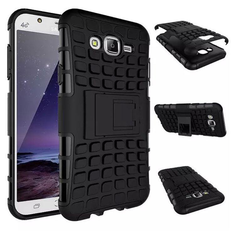 For 2015 Samsung J7 Case J700F Heavy Duty Armor Shockproof Hard Silicone Rugged Rubber Phone Cover For Samsung Galaxy J7 2015 #Affiliate