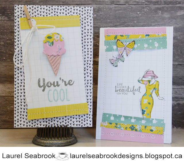 Seabrook Designs Just Because Cards Crate Paper Crate