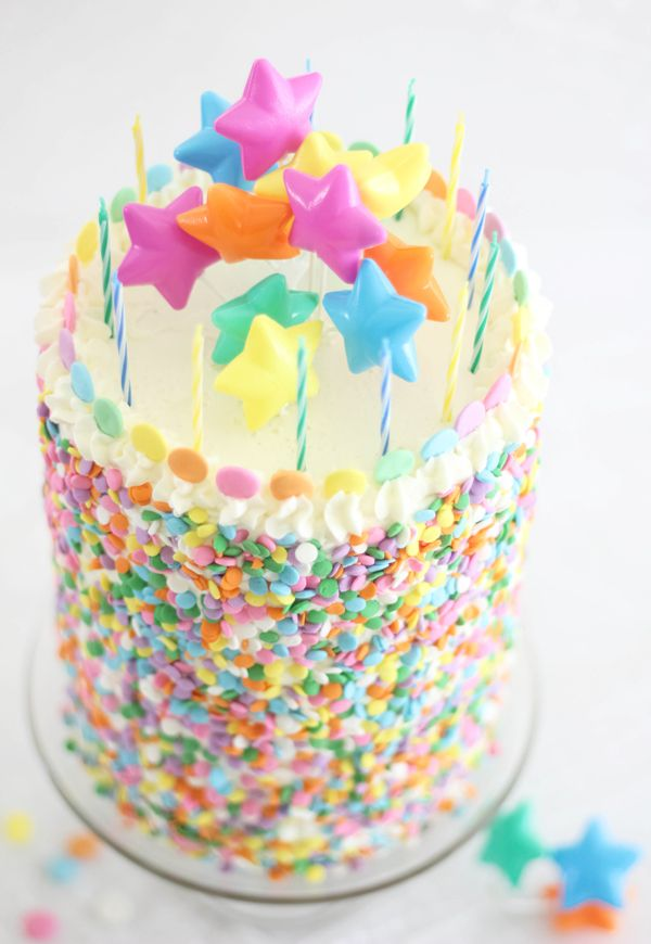 Sprinkle Bakes: Pastel Layer Cake and a Blog Birthday!Happy Birthday ...