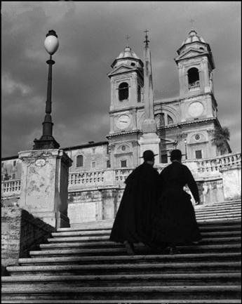 Photo of the Spanish Steps, by Herbert List.