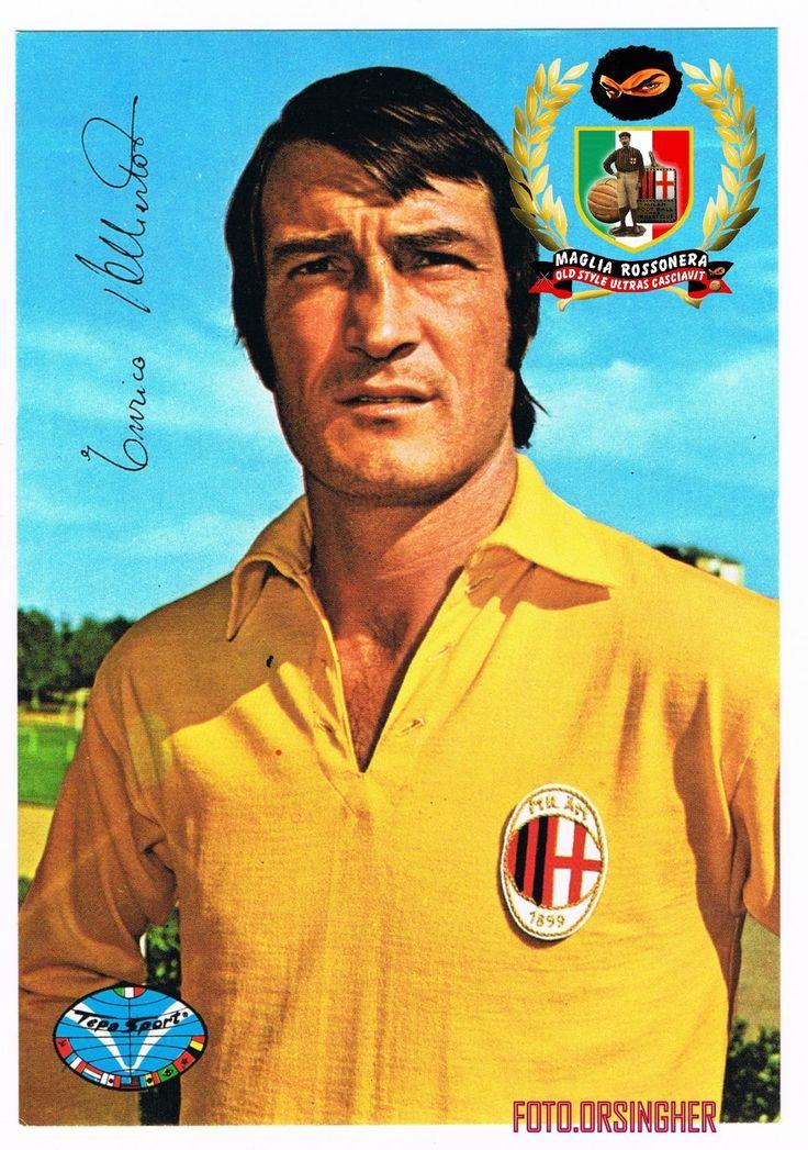 AC Milan goalkeeper Enrico Albertosi in 1973.