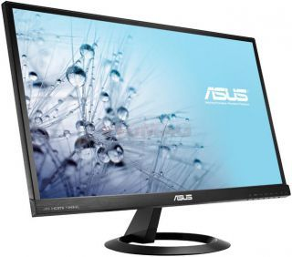 "ASUS Monitor IPS LED Asus 23"" VX239H, Full HD (1920 x 1080), HDMI, 5ms GTG, Boxe, Flicker free, Low Blue Light (Negru) Monitoare LED  	Monitor Asus LED VX239H 23'', AH-IPS, Full HD, 5ms, HDMI/MHL, difuzoare, negru"