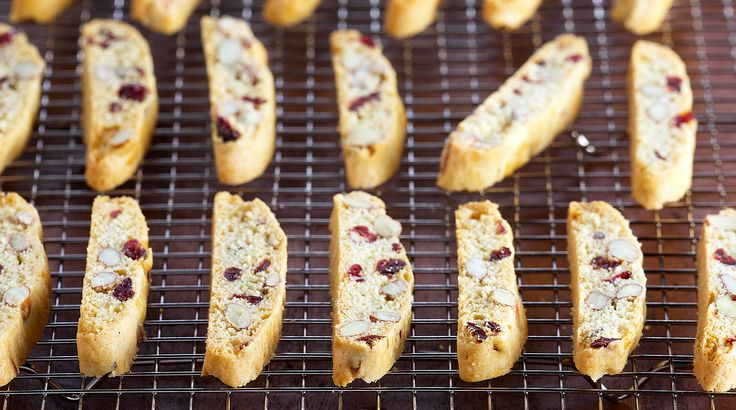 Bake With Anna Olson: Recipes: Classic Cranberry Almond Biscotti | Asian Food Channel
