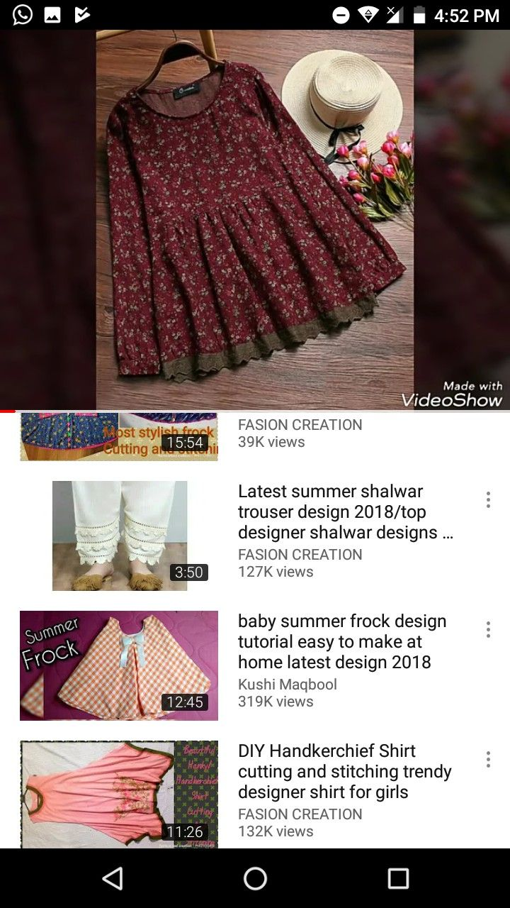 Baby Frock Design 2018 Cutting : frock, design, cutting, Casual, Dress, Designs
