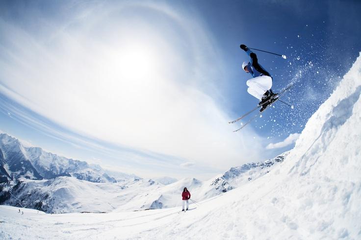 Auch für sehr gute Skifahrer hat die Zillertal Arena viel zu bieten