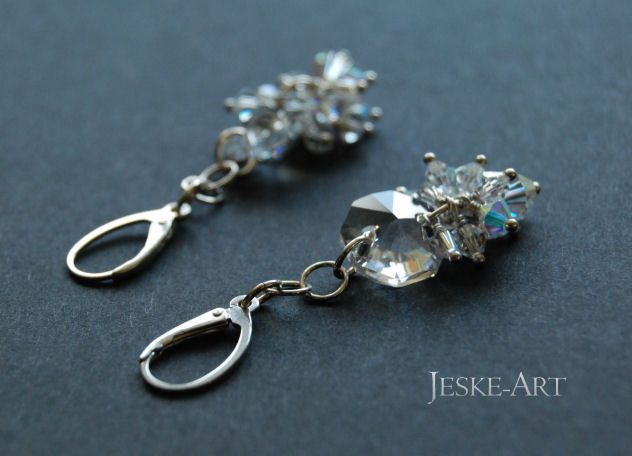 Jutrzenka - srebro925 i kryształy w Jeske-Art na DaWanda.com