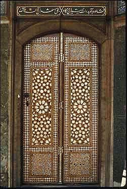 Topkapi Palace, Istanbul. I have been here. It is made of Tortoise Shell and Mother of Pearl Seashells.