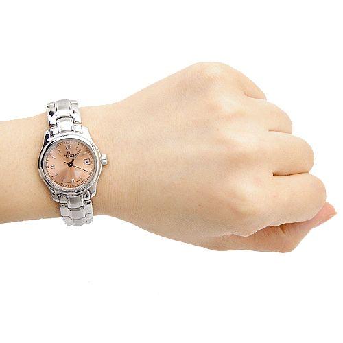 31790-Fendi 펜디 핑크 메탈 로만넘버 210L 시계