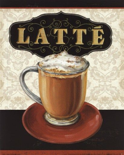 Latte - cafes coffee aroma