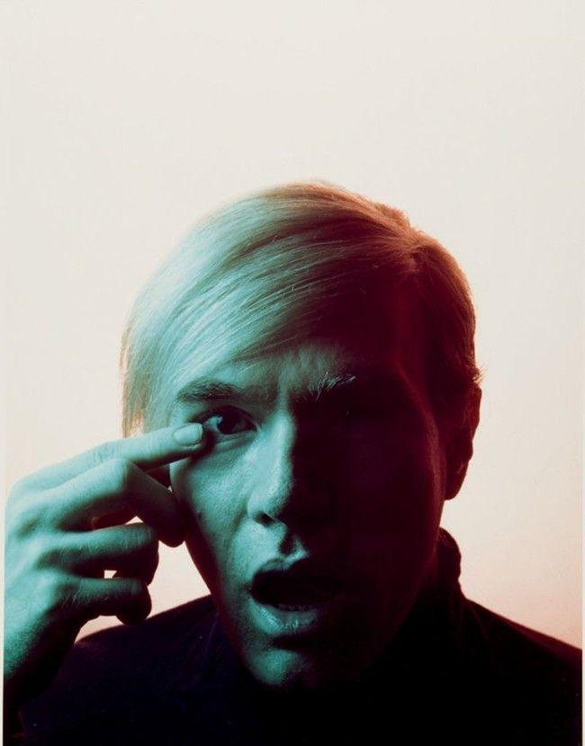 Andy Warhol by Philippe Halsman