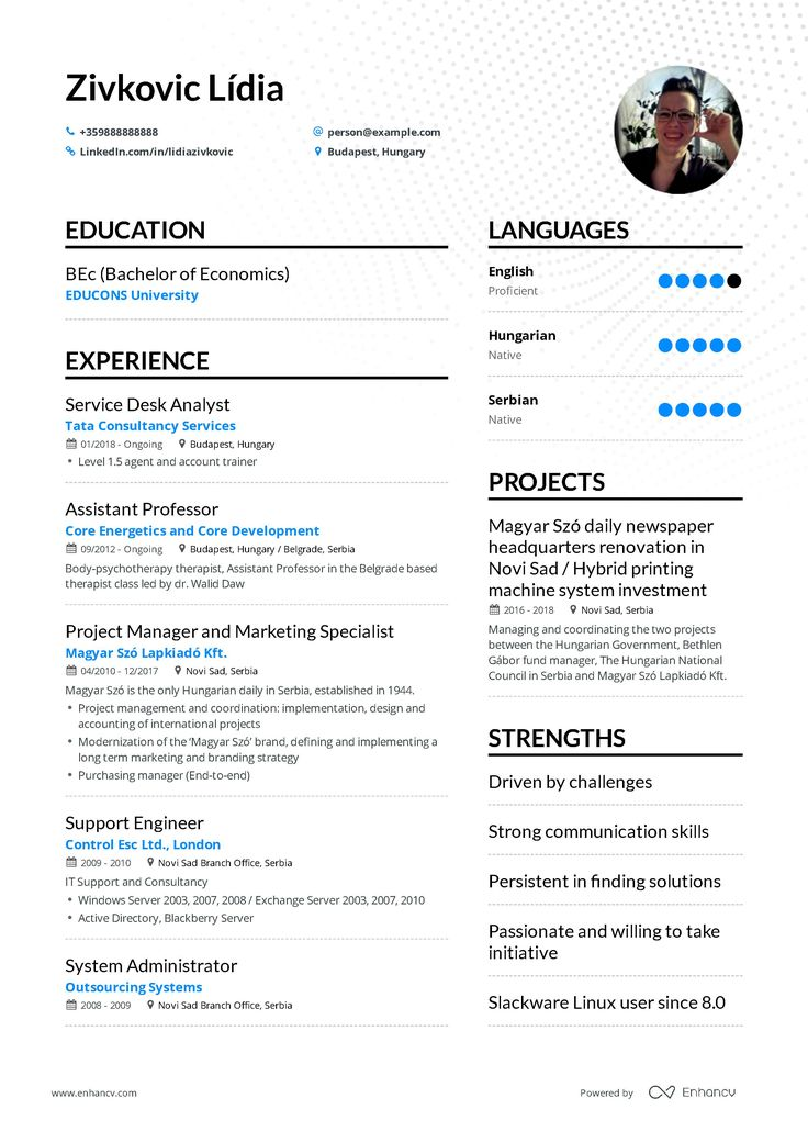 The ultimate 2019 guide for IT Support resume examples